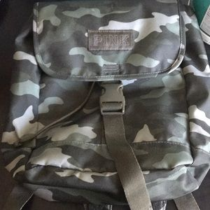 camo patern mini backpack